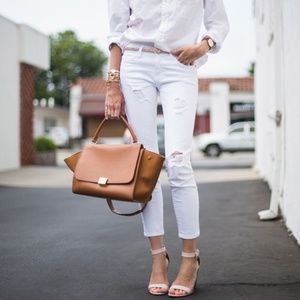 Current/Elliot - The Stiletto White Jeans - NWT